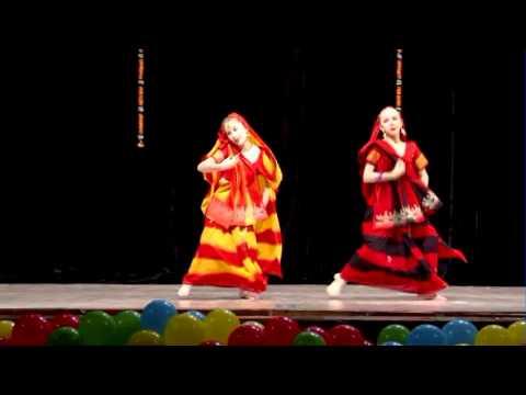 Dola Re Dola Bollywood Dance (movie Devdas) - Viktoria Anisimova And Ekaterina Okurenkova (tarang) video