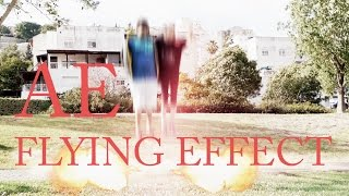 After Effects Flying Effect