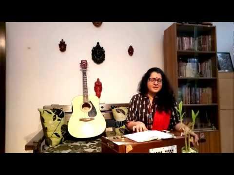 Borne Gondhe Chonde Geetite By Debolina Sur (Tribute to SD Barman)