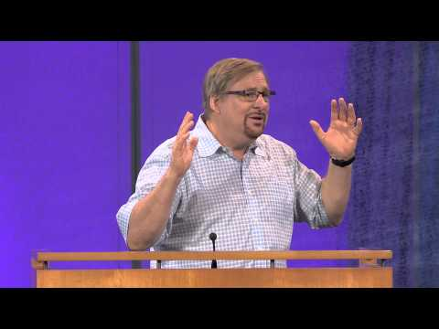 Learn How To Be Set Free From Self-Destruction with Rick Warren