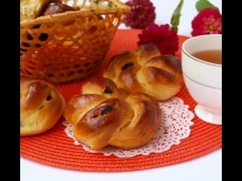 ВКУСНЫЕ Венские булочки с изюмом рецепт