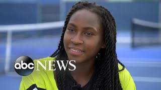 Tennis star Cori 'Coco' Gauff talks Wimbledon debut at 15: 'The sky isn't the limit' I Nightline