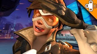 TRACER'S BIGGEST FAIL EVER! Overwatch Funny & Epic Moments 499