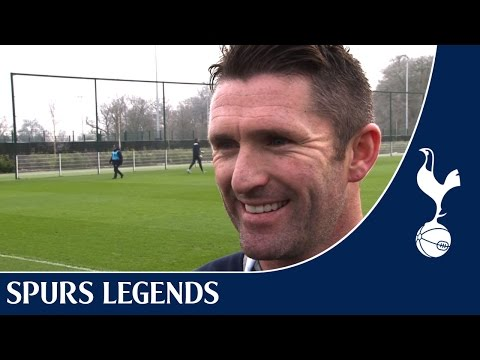 Exclusive with Robbie Keane at the Tottenham Hotspur Training Centre