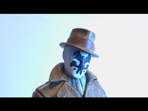 VR Reviews: DC Direct- Watchmen Series 1 Rorschach Review