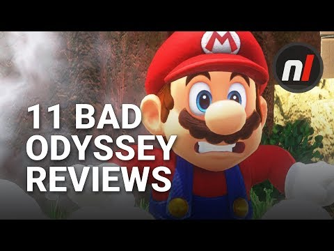 Super Mario Odyssey: 11 Hilariously Bad Reviews