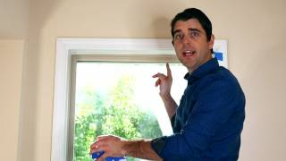 How to Install Blinds   Faux Wood Blinds   Inside Mount Window Blind Installation   MOORE APPROVED
