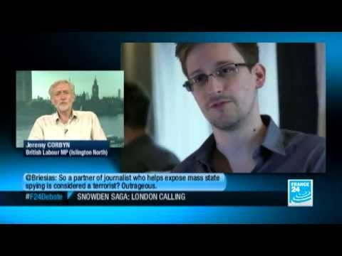 Corbyn: Snowden uncovers far greater surveillance than under Soviets