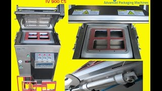 Automatic Tray Case Vacuum Gas-Packing Sealer Machine - IV900CS