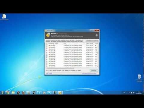 Tutorial Recuperar archivos eliminados/borrados