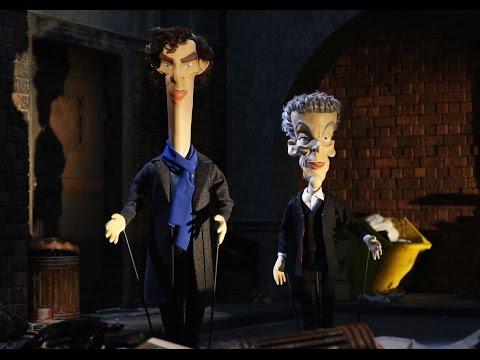 Newzoids   Doctor Who vs Sherlock   Benedict Cumberbatch   Peter Capaldi
