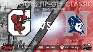 OTR Hoops Tip-Off Classic: Norcross vs. Gainesville - (KJ Buffen vs. Kyle Sturdivant)