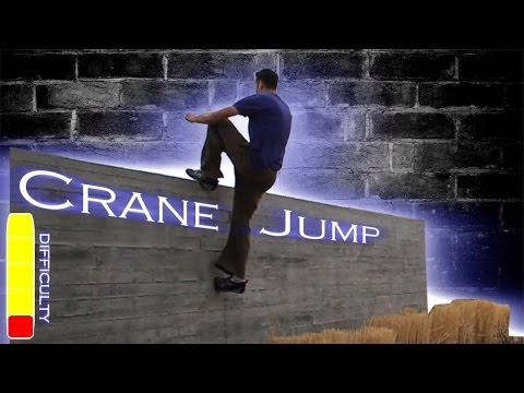 How to CRANE JUMP Parkour Tutorial