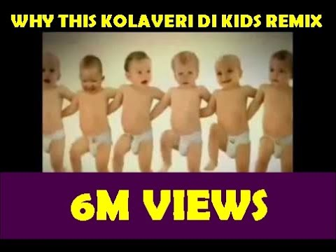 Why This Kolaveri Di Song Remix (dance By Kids) video