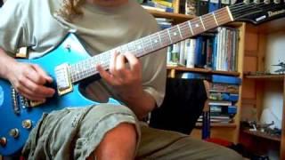 Ibanez Iceman fast guitar shredding