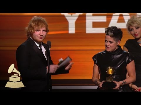 Ed Sheeren | Song of the Year | 58th GRAMMYs