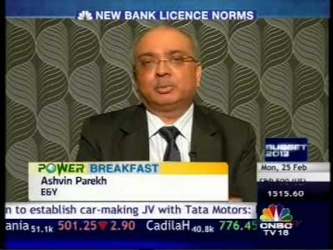 Guidelines Issued By RBI For New Banking Licences, ASHWIN PAREKH CNBC 250213 0727AM