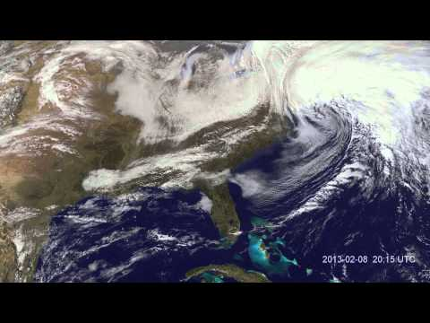 Winter storm Nemo hits US Northeast - Record Blizzard 2013
