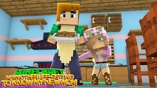 LITTLE KELLY MEETS HER REAL MOM!!! - Minecraft Little Club Adventures