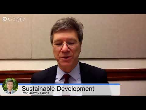 Live Chat with Jeffrey Sachs on