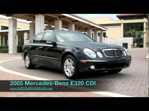 2005 Mercedes-Benz E320 CDI Turbo-Diesel  A2682
