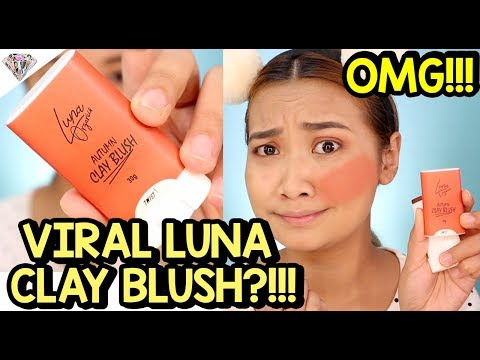 FAKE NA VIRAL LUNA CLAY BLUSH?! MAGANDA NGA BA TALAGA?! REVIEW + WEAR TEST