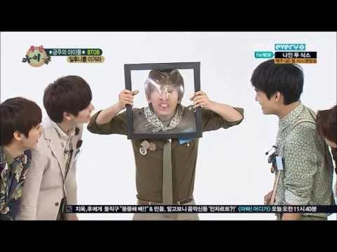 [HD] 130605 BTOB 'deforming faces' funny game @ Weekly Idol