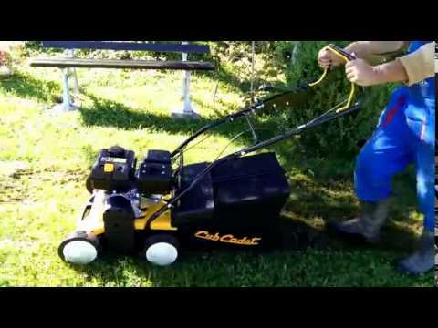 Cub Cadet CCV40B Petrol Lawn Scarifier