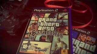 Распаковка: G.T.A.San Andreas PS2