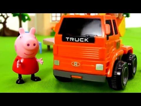 Kinderfilm - Peppa Pigs Garten - Wir Pflanzen Bäume