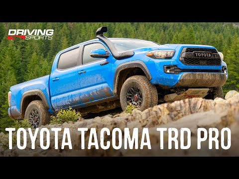 2019-2020 Toyota Tacoma TRD PRO Off-Road Review