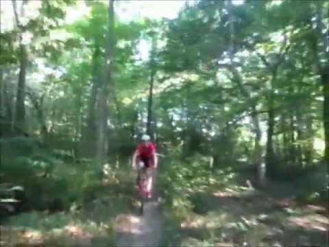Finger Rock Trail in Athens, Ohio on Mountain Bikes