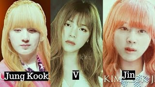 BTS Member cross-dressed as women,Who is the most beautiful?