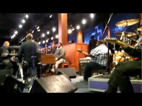 City of Refuge Band with SOD choir