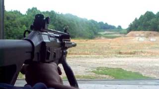 SIG 556 at 200 yard steel targets