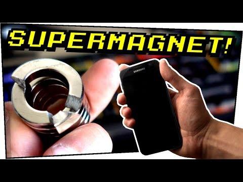 Dieser Supermagnet kann Handys kontrollieren! - Gefährliche Experimente #106