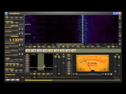 1130 kHz YVRL Radio Ideal Venezuela DX Heard in Michigan on Perseus SDR & D-KAZ Antenna