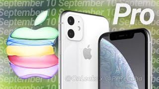 Apple September 2019 Event Confirmed! iPhone 11 Pro, Apple Watch Series 5 & Redesigned MacBook Pro