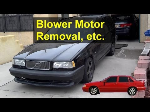 Volvo 850 Blower Motor Lubrication. Replacement - Auto Repair Series