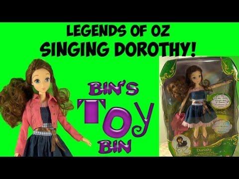 Legends of Oz SINGING DOROTHY Fashion Doll Review! by Bin's Toy Bin