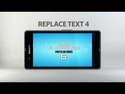 After Effects Project Files  Zperia Smartphone Mobile App