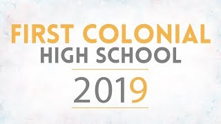 First Colonial HS Graduation - Class of 2019