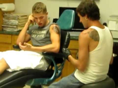 Greatest Tattoo Freak Out EVER!
