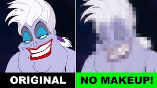 Disney Villains WITHOUT MAKEUP ☠ See what Ursula, Maleficent & Cruella REALLY look like! Alice Edit!