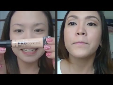 LA Girl Pro.conceal HD Concealer First Impression/Review!