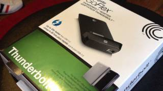 Seagate GoFlex Thunderbolt Adapter Hands-on & Review! Multiple Hard Drive Comparison and Speed Test!