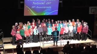 Worcester Volcano Community choir and Heart&Soul Community Choir