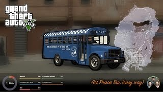 GTA V get Prison Bus (easy way)