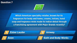 CNBC TV18 | Quiz 76:  Test your Business Acumen And Knowledge