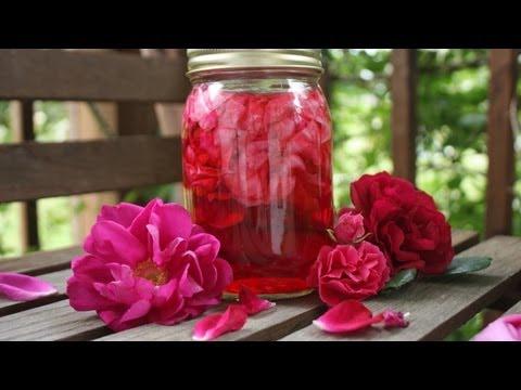 Как приготовить Розовый уксус: головные боли, кулинария #торчимнакухне